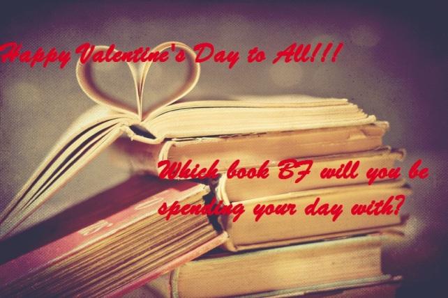 Falling for books V-Day