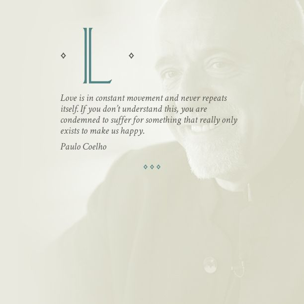 Coelho Love quote